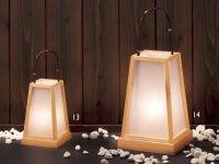 Corridor Lantern Lotus Plain Wood