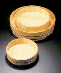 椹 Sawara Cypress Sushi Mixing Bowl