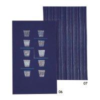 Aizome (Indigo-dyed) Noren Curtain